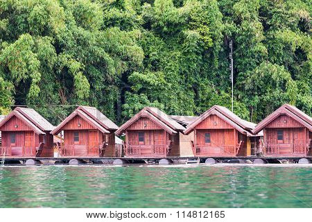 Floating Houses Or Raft Houses