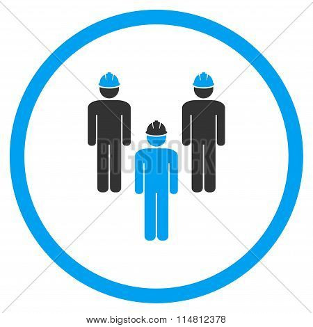 Standing Engineer Group Icon