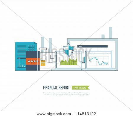 Business analysis, financial report and strategy.