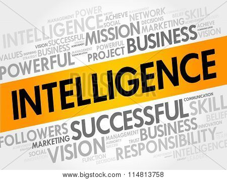 Intelligence Word Cloud