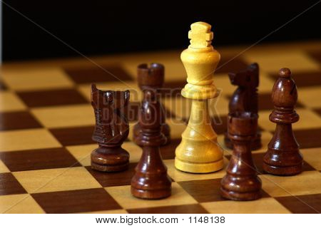 Chess Surrounded King