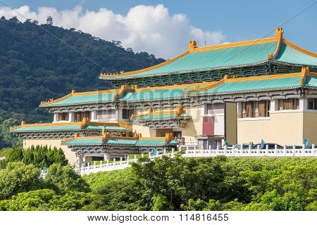 Gugong National Palace Museum in Taipei, Taiwan