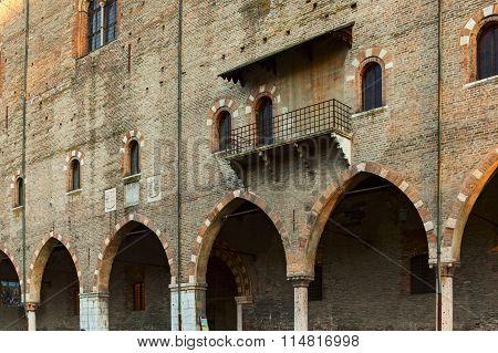 Mantova Ducal Palace Facade