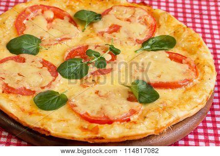 Homemade Pizza Margarita