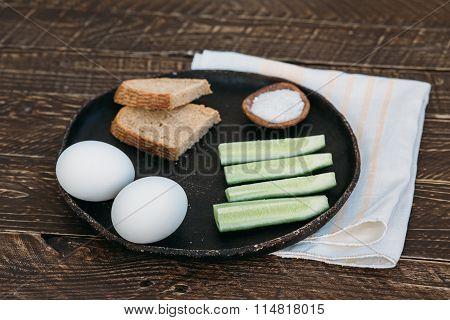 Hard-boiled Eggs.