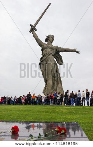 The Monument Of Motherland Calls!. Volgograd, Russia