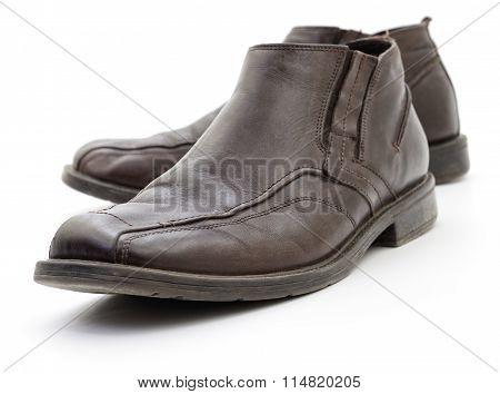 Men's Dark Brown Shoes.