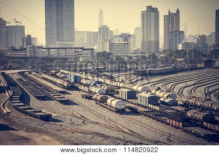 Freight train station, Bangkok