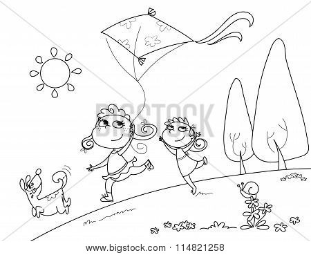 Playing with the kite vector