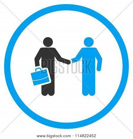 Businessmen Contract Icon