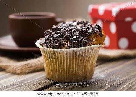 Cute Appetizing Muffin