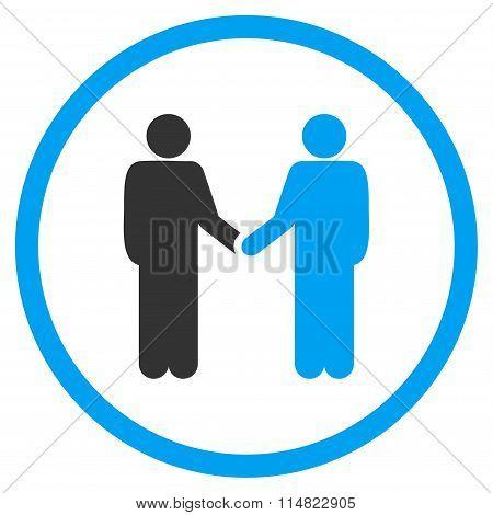Person Handshake Icon