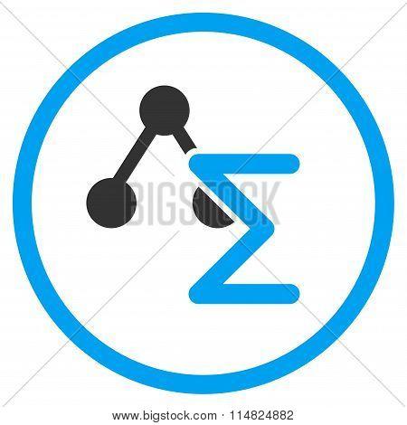 Analytical Formula Flat Icon