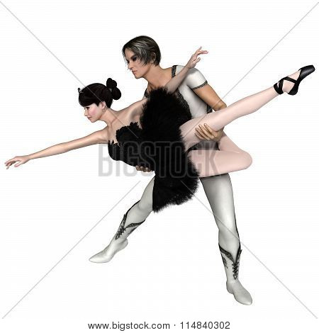 Black Swan Pas De Deux from Swan Lake