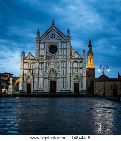Cathedral Santa Croce  Florence