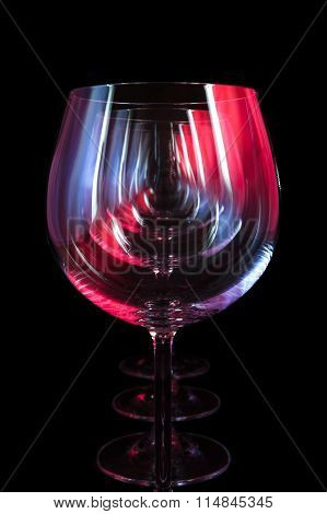Party wine glasses