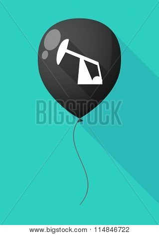 Long Shadow Balloon With A Horsehead Pump