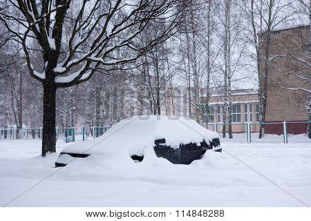 The Cyclone Emma In Brisov-city