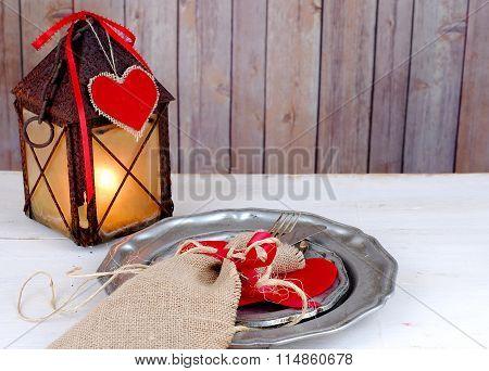 Rustic Valentine
