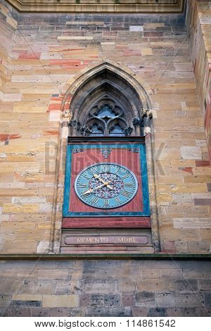 Clocks Of Freiburg Minster, Germany