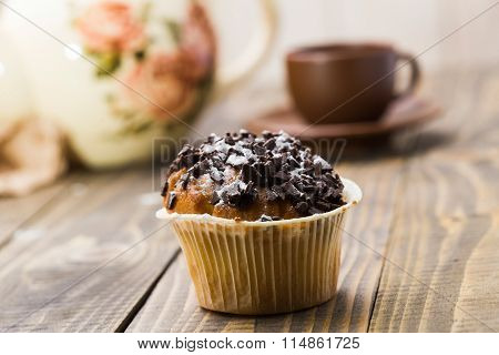 Delicious Baked Cupcake