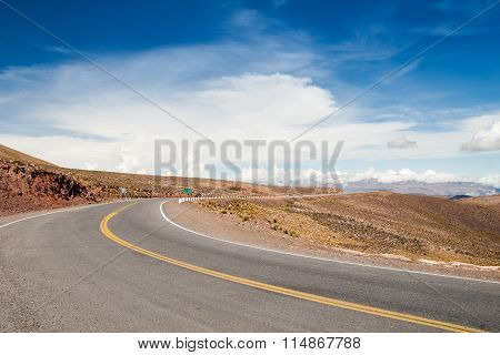 Dream Street In The Andes, Argentina Salta Jujuy