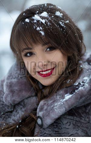 Beautiful Portrait Of Smiling Girl