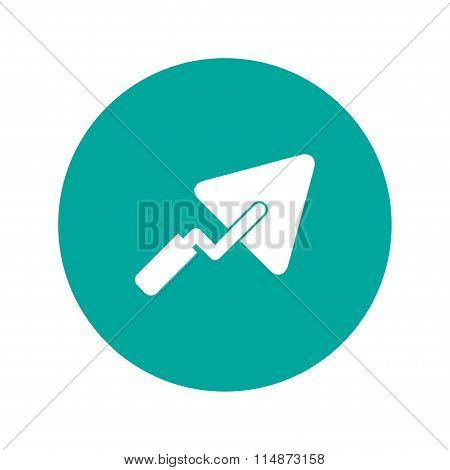 Trowel Icon. Flat
