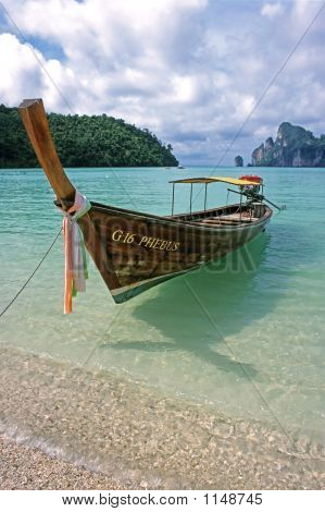 Long Boat - Ko Phi Phi Don, Thailand