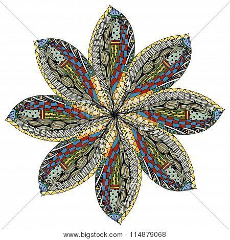 Beautiful Colored Mandala