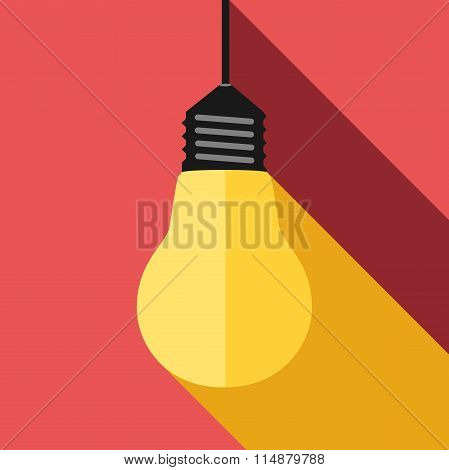 Lightbulb, Light And Shadow