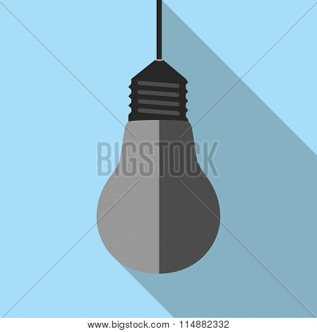 Turned Off Lightbulb Hanging