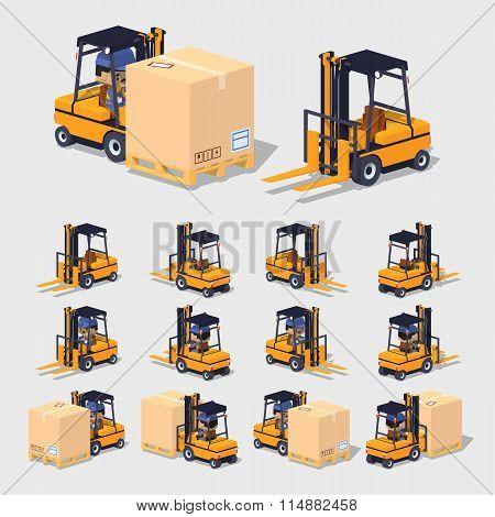 Cube World. Forklift