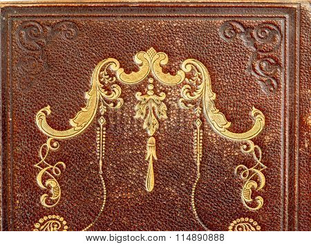 Old, Leather Book Detail