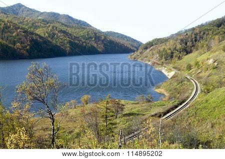 Water storage lake