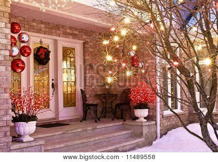 Christmas Entrance