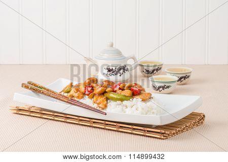 Cashew Chicken Plate