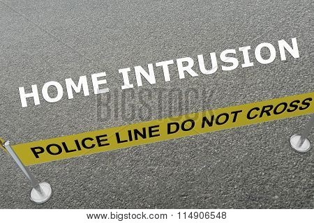 Home Intrusion Concept