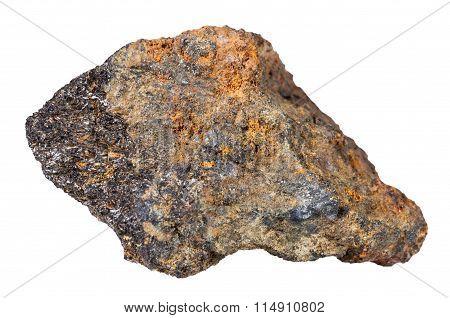 Piece Of Psilomelane (black Hematite) Mineral