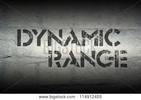 Dynamic Range Gr