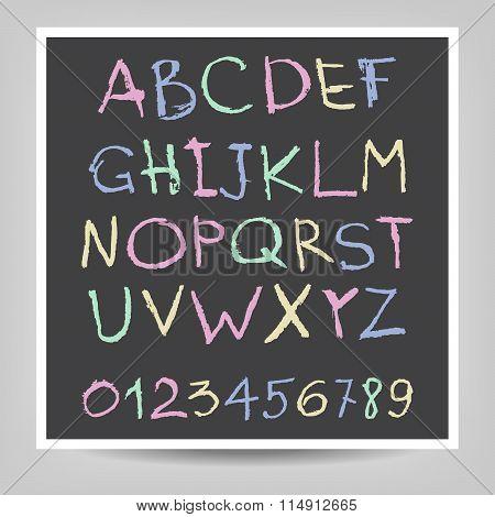Handwritten English Alphabets
