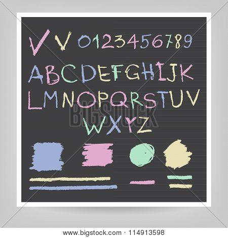 Handwritten English Alphabets And Digits.