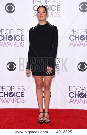 LOS ANGELES - JAN 06:  Ashley Benson arrives to the People's Choice Awards 2016  on January 06, 2016 in Hollywood, CA.