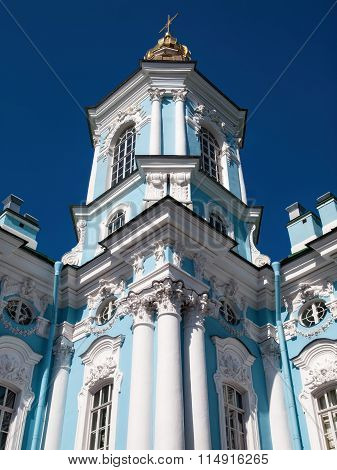 St. Nicholas's Cathedral in Saint-Petersburg