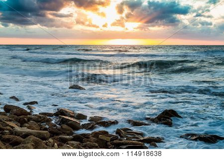 Seascape, Mediterranean Sea, Israel