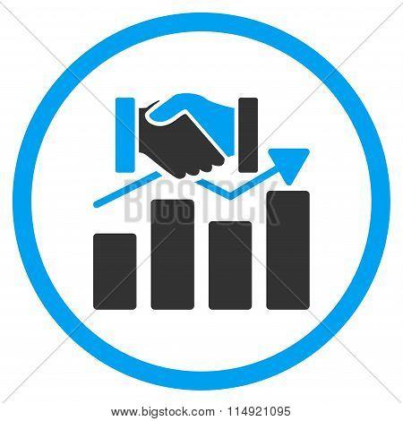 Acquisition Graph Icon