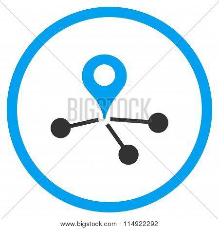 Geo Network Icon