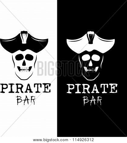 Pirate Bar Illustration