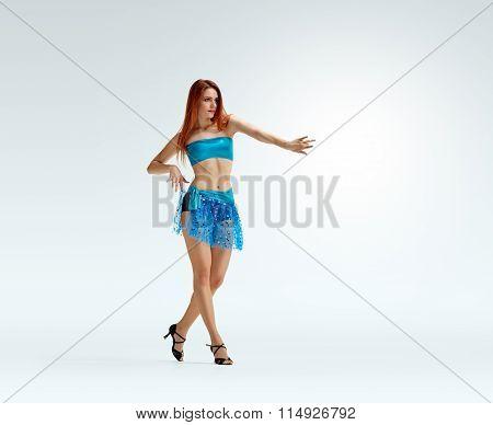 redheaded dancing girl