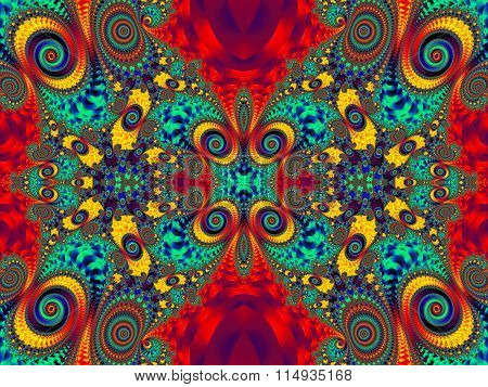 Fabulous Multicolored Pattern.You Can Use It For Invitations, Notebook Covers, Phone Case